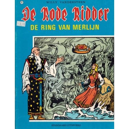 Rode Ridder Zwart-wit 022 De ring van Merlijn herdruk