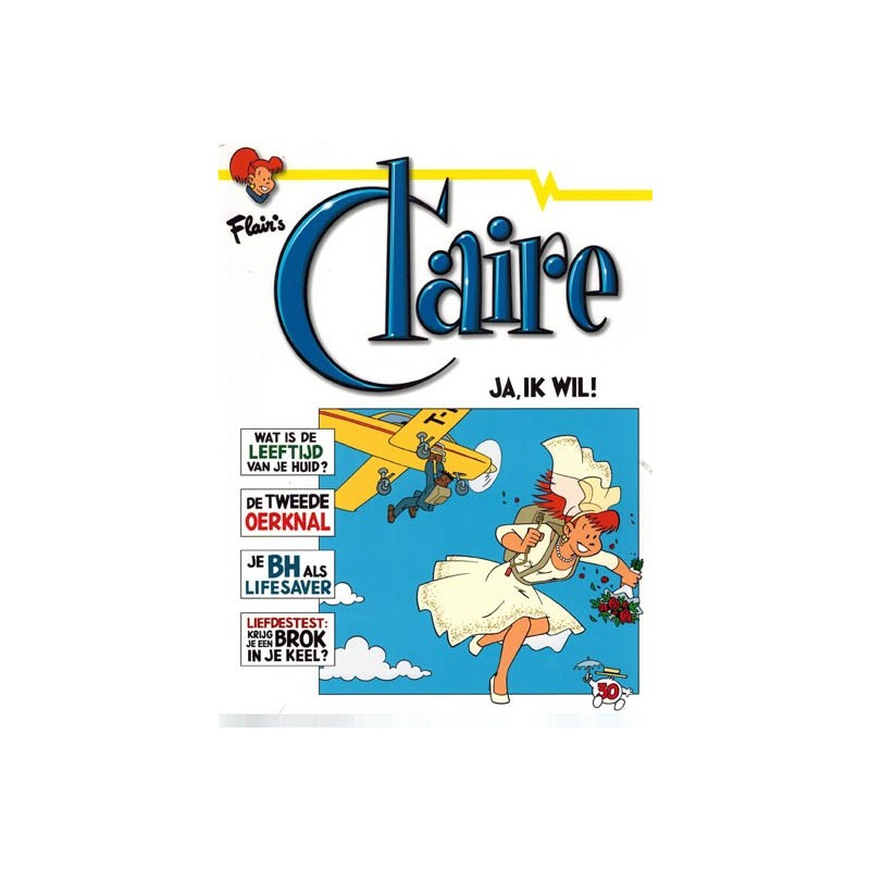 Claire  30 Ja, ik wil!