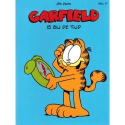 Garfield  album 117 Is bij de tijd