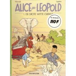Alice en Leopold setje 1 t/m 5<br>1e drukken 1991-1995