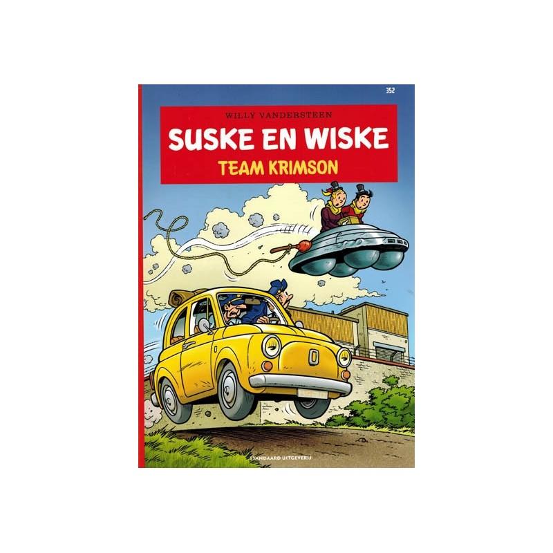 Suske & Wiske  352 Team Krimson (naar Willy Vandersteen)