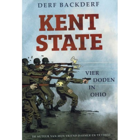 Backderf strips HC Kent State Vier doden in Ohio