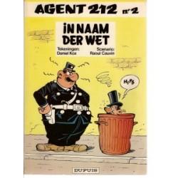 Agent 212 02 - In naam der wet 1e druk 1982