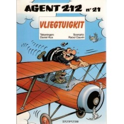 Agent 212 21 Vliegtuigkit