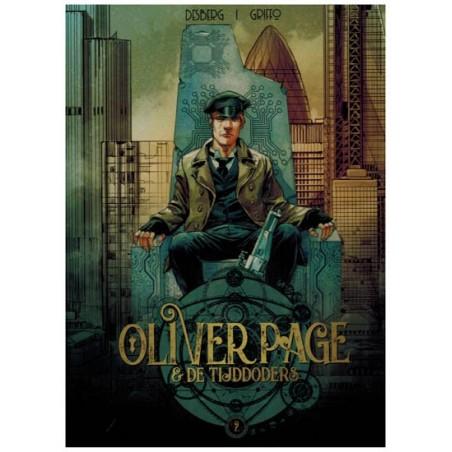 Olivier Page HC 02 De tijddoders