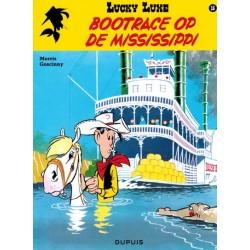 Lucky Luke    16 Bootrace op de Mississippi