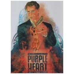 Purple heart HC 02 Poiject Bluebird