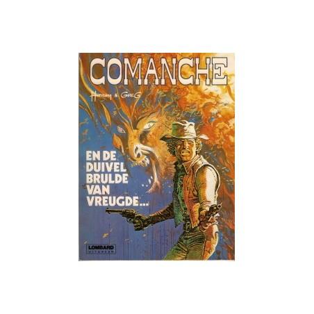 Comanche 09 En de duivel brulde van vreugde... herdruk