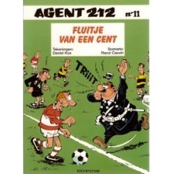 Agent 212 11<br>Fluitje van een cent