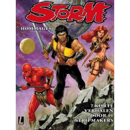 Storm   Hommages HC 01 Zeven korte verhalen door 11 stripmakers