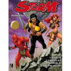 Storm   Hommages 01 Zeven korte verhalen door 11 stripmakers