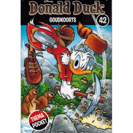 Donald Duck  Dubbel pocket Extra 42 Goudkoorts