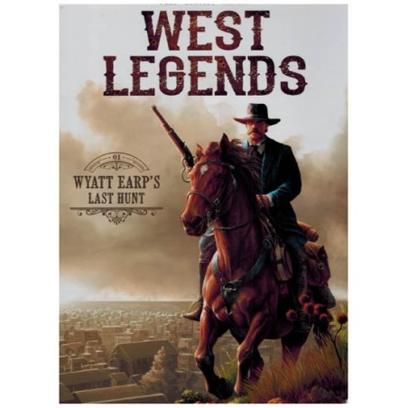 West legends 01 Wyatt Earp's last hunt