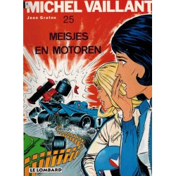 Michel Vaillant 25 Meisjes en motoren herdruk Lombard