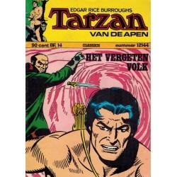 Tarzan classics 144 Het vergeten volk 1e druk 1973