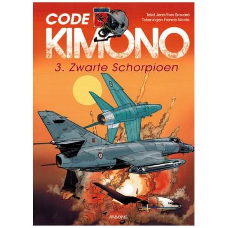 Code Kimono 03 Zwarte schorpioen