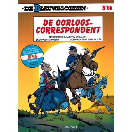 Blauwbloezen  65* De oorlogscorrespondent (naar Salverius, Lambil & Cauvin)