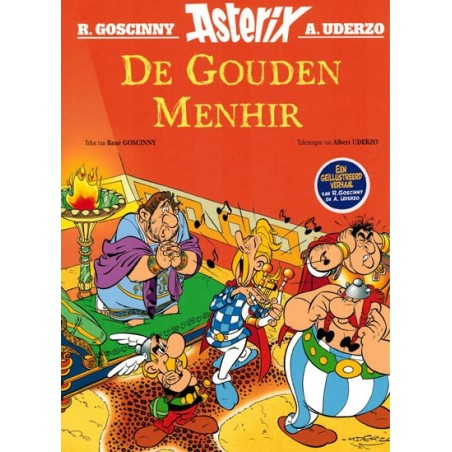 Asterix verhalen 04 De gouden menhir 1e druk 2020