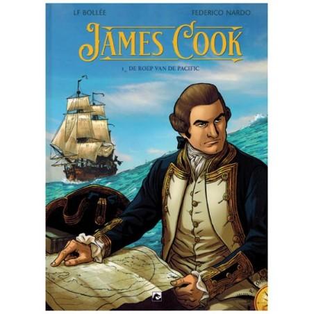 James Cook HC 1 De roep van de Pacific (Explora 8)