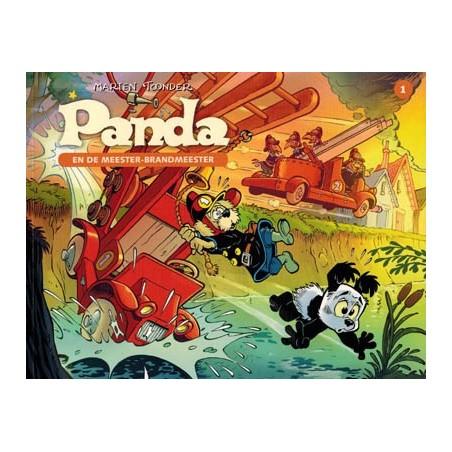 Panda C oblong 01 De meester-brandmeester