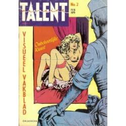 Talent 02 1e druk 1979 rug minder
