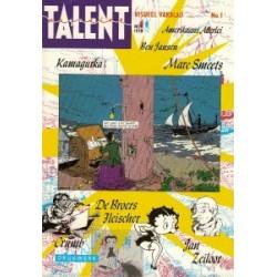 Talent magazine setje Deel 1 t/m 7 1978-1981