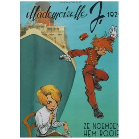 Mademoiselle J. HC 01 1929 Ze noemden hem Rooie [eerder in SC uitgegeven als Robbedoes Oneshot 13]