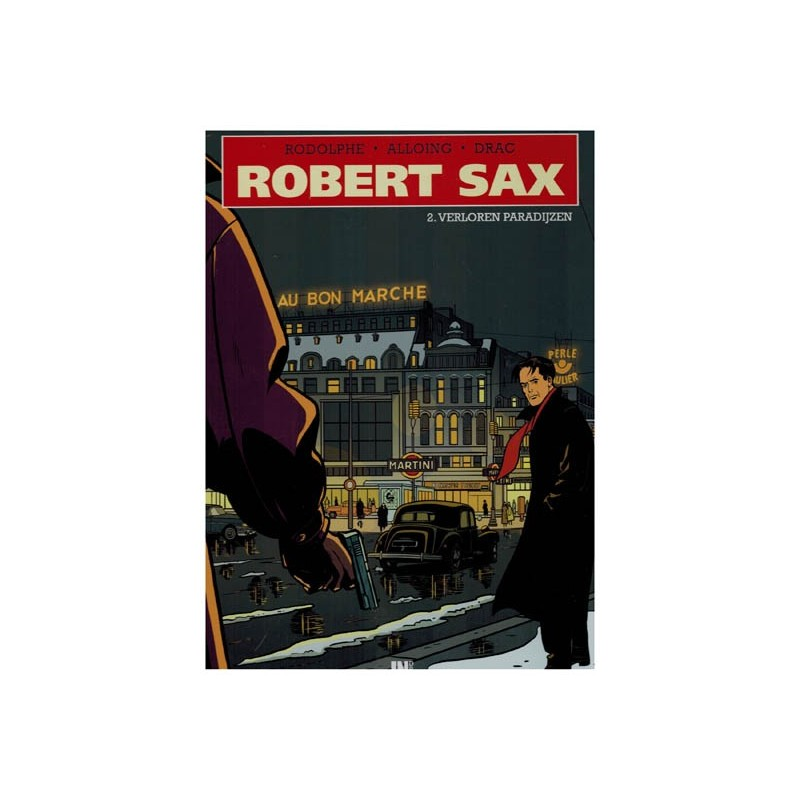Robert Sax 02 Verloren paradijzen