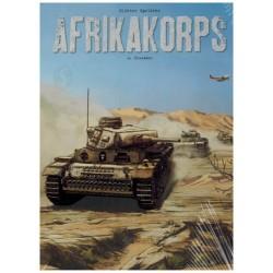 Afrikakorps 02 collectors edition HC Crusader (met display)