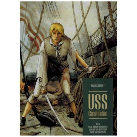 USS Constitution HC 02 Op zee heersen twee soorten recht, dat van de officieren en dat van de matrozen