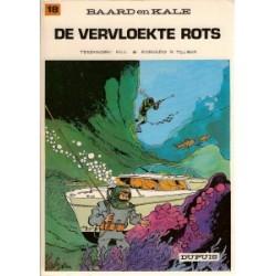 Baard en Kale 18<br>De vervloekte rots<br>herdruk 1978