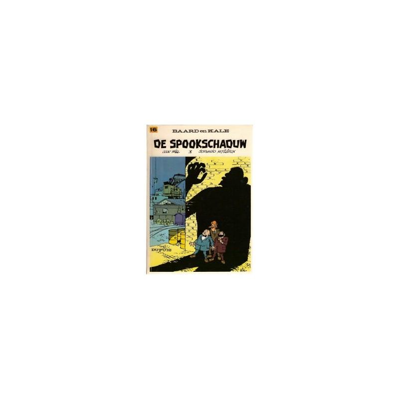 Baard en Kale 16 De spookschaduw herdruk 1977