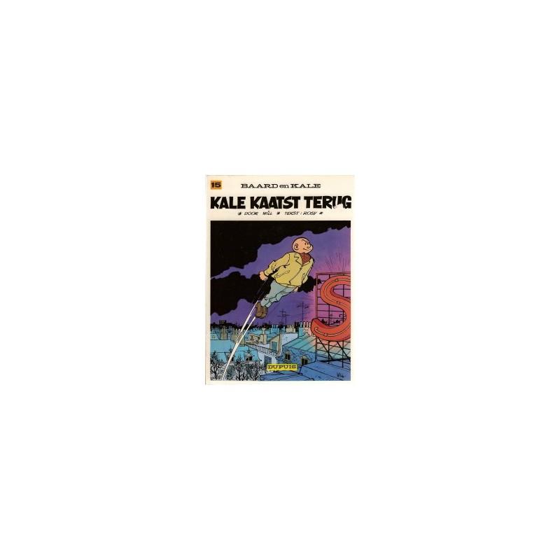 Baard en Kale 15 Kale kaatst terug herdruk 1977