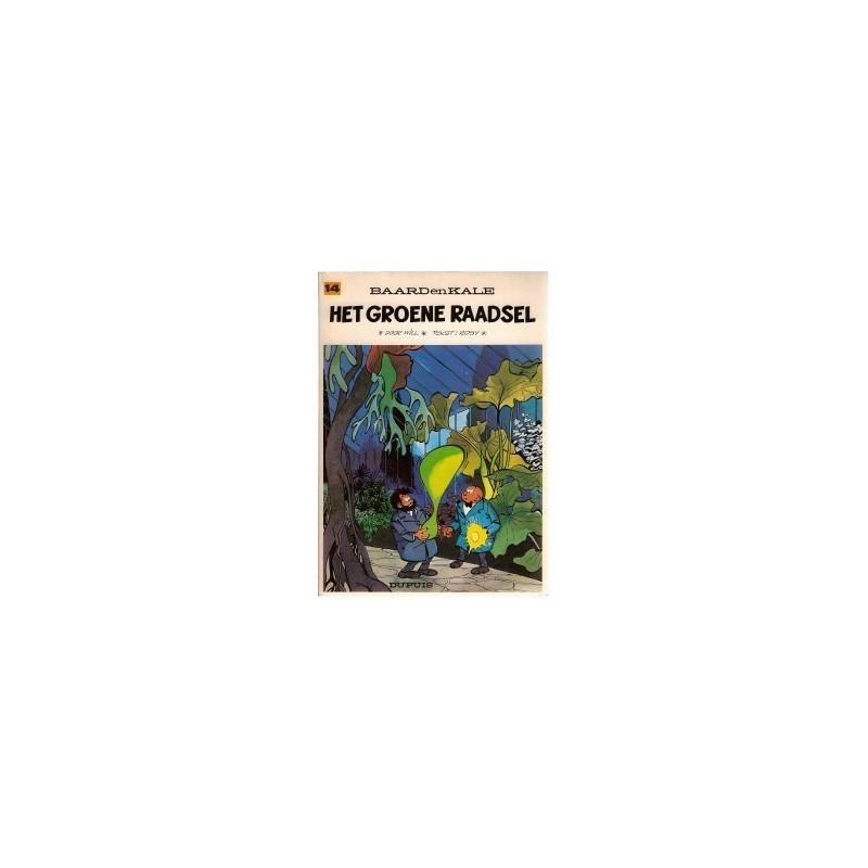 Baard en Kale 14% Het groene raadsel herdruk 1976