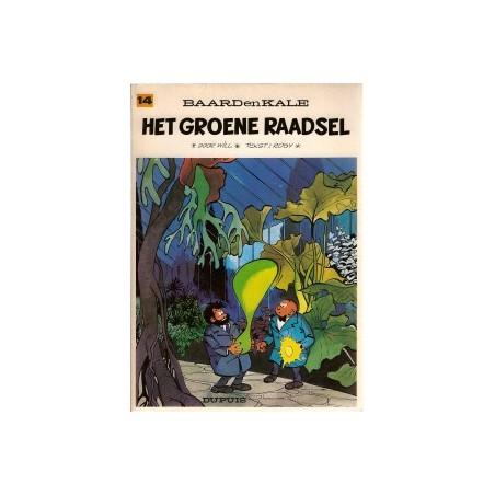 Baard en Kale 14<br>Het groene raadsel<br>herdruk 1976