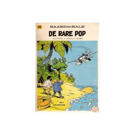 Baard en Kale 11<br>De rare pop<br>herdruk 1975