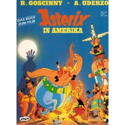 Asterix Taal Duits Asterix in Amerika Das buch zum film