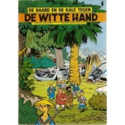 Baard en Kale 04<br>De witte hand<br>herdruk 1976