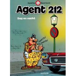 Agent 212 01 Dag en nacht herdruk nieuwe voorkant