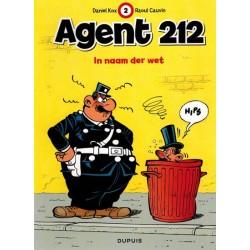 Agent 212 02 In naam der wet herdruk nieuwe voorkant