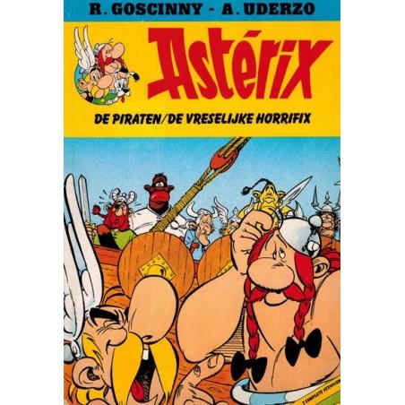 Asterix Leesboekje 01 De Piraten / De vreselijke Horrifix 1e druk 1985