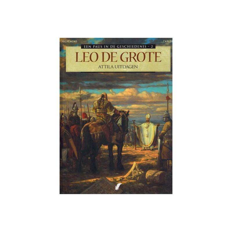 Paus in de geschiedenis HC 02 Leo de Grote Attila uitdagen