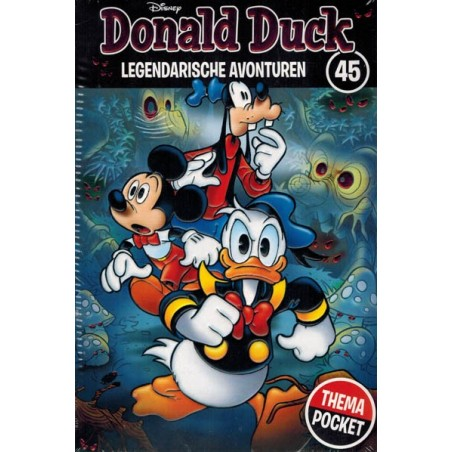 Donald Duck  Dubbel pocket Extra 44 Mythes & mysteries