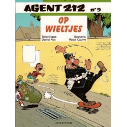 Agent 212 09<br>Op wieltjes
