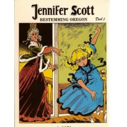 Jennifer Scott 01 Bestemming Oregon deel 1 1e druk 1982
