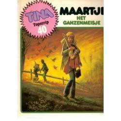 Maartje 01 Het ganzenmeisje 1e druk 1982