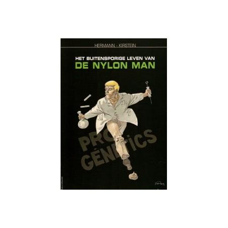 Hermann  strips Het buitensporige leven van de Nylon man