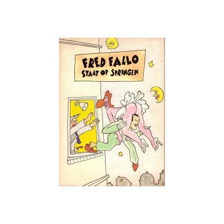 Willem Fred Fallo staat op springen 1e druk 1980