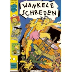 Geradts Jan Zeiloor Wankele schreden 1e druk 1977