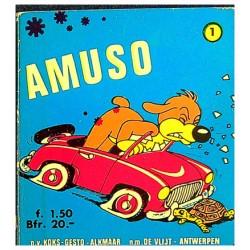 Amuso 01 1e druk 1969